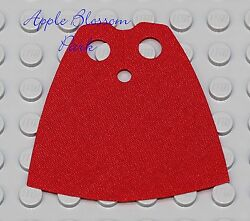 Genuine Lego RED MINIFIG CAPE Star Wars Pirate Harry Potter Castle Minifigure $1.99