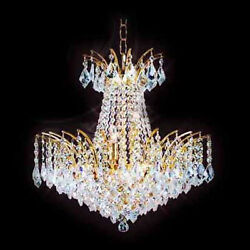 New!  Crystal  Chandelier Chandeliers Lighting  19