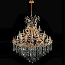 New! Crystal Chandelier Maria Theresa 24k Gold 60X72 $5,987.11