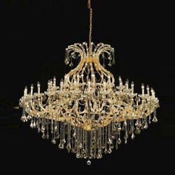 New! Crystal Chandelier Maria Theresa 49 Lts 72X60