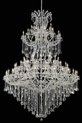 New! Crystal Chandelier Maria Theresa 85 Lts 72X96 $11,176.06