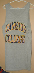 VINTAGE CHAMPION PRODUCTS CANISIUS COLLEGE TANK TOP T SHIRT XL