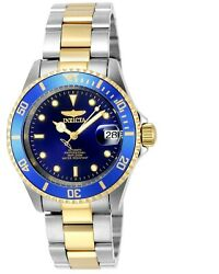 Invicta Men#x27;s Watch Pro Diver Automatic Two Tone Stainless Steel Bracelet 8928OB $82.31