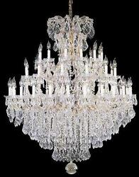 Large Entryway Foyer Chandelier Crystal Chandeliers Lighting 52x60 $2197.00