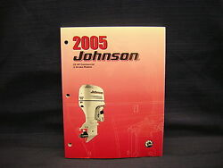 2005 JOHNSON 2 STROKE 55 COMMERCIAL SERVICE MANUAL # 5005972