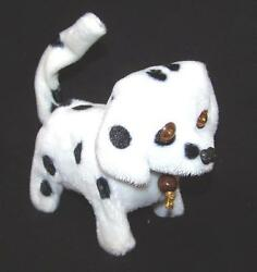 ROLL OVER DALMATIAN DOG battery operated rollover toy NOVELTY barking light up $6.99
