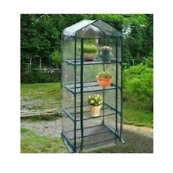 Portable Mini Greenhouse Growing Tent Seedling Starter Plant Steel Tube Zippered