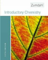 NEW Introductory Chemistry Fifth Edition by Steven S. Zumdahl