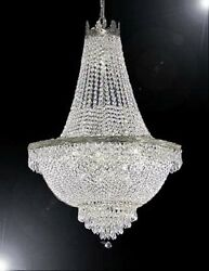 Made With Swarovski Crystal Chandelier French Empire Crystal Chandelier Lighting $986.00