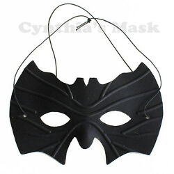 Black Batman Eye Mask Masquerade Party Prom Halloween Costume Mardi Gras Cosplay $8.19