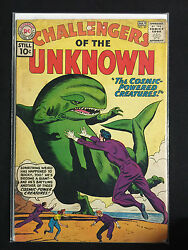 Challengers of the Unknown #20 - 1960 (3.0) THE COSMIC POWERED CREATURES!
