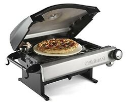 Outdoor Pizza Oven Portable Patio Camping Brick Propane Grill Bread Wood Fired
