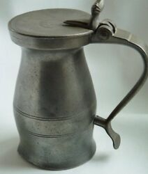 Antique English Pewter Pint