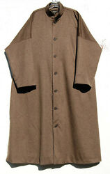 NEW Eskandar Bergdorf Goodman 100% Cashmere LIGHT BROWN Imperial Coat (1) $7890