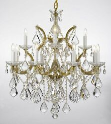 Maria Theresa Chandelier Lighting Trimmed with Spectra (TM) Crystal $561.88