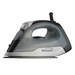 New Brentwood Appliances Steam Dry Spray Clothes Iron Black $19.99