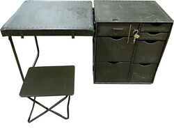 US GI Field Desk Very Cool Vintage Desk UNUSED amp; AUTHENTIC $299.00