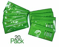 Pack of 20 LH Ovulation Test Strips - FDA Approved From US