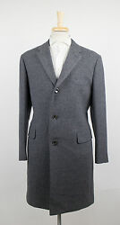 New D'AVENZA Gray Houndstooth Cashmere Blend Full Length Coat 5040 R $4495