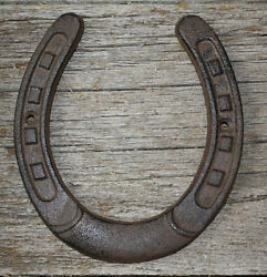 Cast Iron Lucky Horseshoe Rustic Ranch Western Home Decor 5 1 2 x 6.5 in TEXAS $6.99