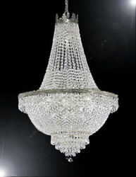 French Empire Crystal Chandelier Lighting H 50