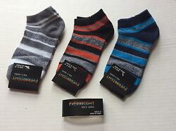 3 PAIRS BOYS NOVELTY NO SHOW SOCKS* BLACK GRAY *SIZE 6 8 * FUN NWT $6.99