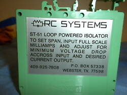 RC SYSTEMS ST51 LOOP POWERED ISOLATOR $19.00