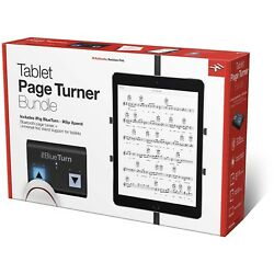 New IK Multimedia Tablet Page Turner Bundle iKlip Xpand & iRig BlueTurn w Free*