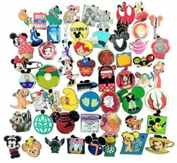 Disney Pin Trading 25 Assorted Pin Lot Brand New Pins No Doubles Tradable $17.95