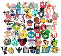 Disney Pin 100 Assorted Trading Pin Lot ~ Brand New Pins ~ No Doubles ~ Tradable $52.45