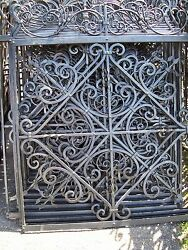 WROUGHT IRON FENCE 47.5''x 59'' METAL ART WORK HANDCRAFTED 10 Pcs NEW
