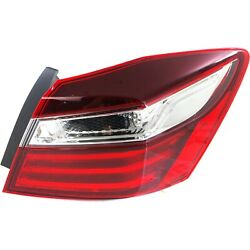 Tail Light Taillight Lamp Assembly Outer Passenger Side RH for Honda Accord New $106.60
