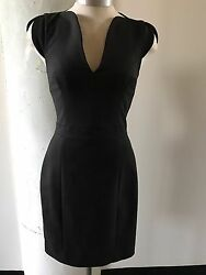 French Connection Black Cocktail Dress Size 2