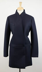 NWT BRUNELLO CUCINELLI Blue Cashmere Blend Full Length Coat Size 1046 $4795