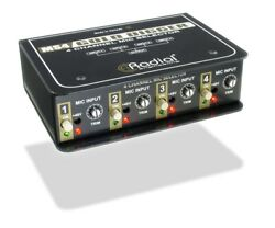 Radial Engineering Gold Digger 4-Channel Microphone Selector