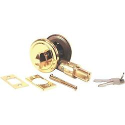 12 Pk U S Hardware Mobile Motor Home RV Brass Door Deadbolt D-083B
