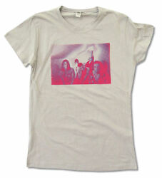 Cage The Elephant Blur Band Image Grey Girls Juniors T Shirt New Official $17.99
