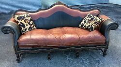 Remington  Leather Sofa Cowhide By Western Passion