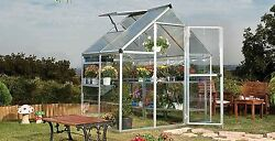 Hobby Greenhouse Green House for Plants Polycarbonate Panels Twin Wall Walk in
