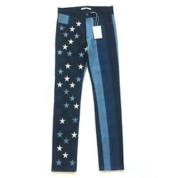 NWT $1.3k Givenchy Mens RUNWAY Stars Stripes American Flag Denim Jeans AUTHENTIC