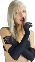 Sheer Seamless long Gloves sexy nylon pantyhose PERSEPHONE by Pearl