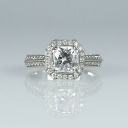Stunning 1.56 ct Hearts on Fire Dream Cut Diamond Distinction Engagement Ring