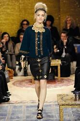CHANEL Paris-Byzance Collection 100% Cashmere Cardigan Sweater Jacket