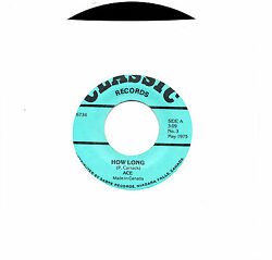 MFD IN CANADA 2 ARTISTS ROCK FUNK 45 RPM : ACE : HOW LONG