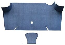 1967 1968 Ford Mustang Fastback Trunk Kit Floor Only Loop Carpet Trunk Mat 2pc $144.95