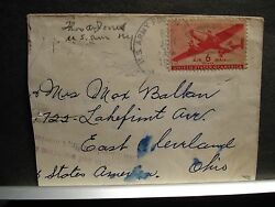 APO 622 DAKAR SENEGAL AFRICA 1943 WWII Army Cover Soldier's Mail
