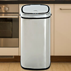 Sensor Bin 68L Automatic Kitchen Waste Dust Touchless Stainless Steel GBP 57.99