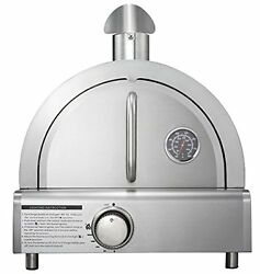 Outdoor Party Cooking Table Top Gas Pizza Oven Large Stainless Kitchen Safe Food