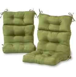 Patio Chair Cushions Clearance High Back Deep Seat Replacement Outdoor Set Of 2