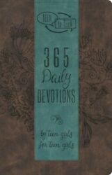 Teen to Teen: 365 Daily Devotions by Teen Girls for Teen Girls .. NEW $5.50